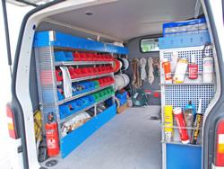 Werkstattwagen der Fa. Nordmast Service GmbH